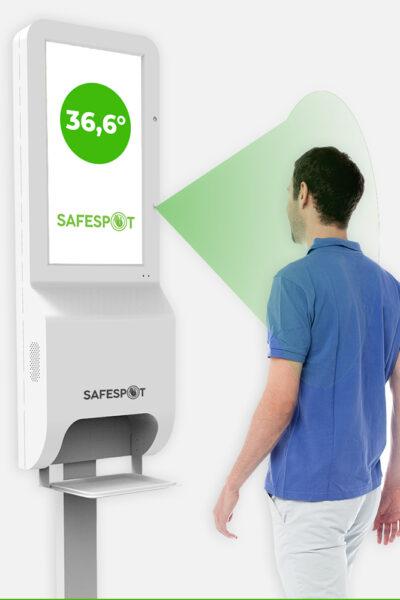 Safespot-nutika-digiekraaniga-katepuhastusjaam-Kehatemperatuuri-mootmine